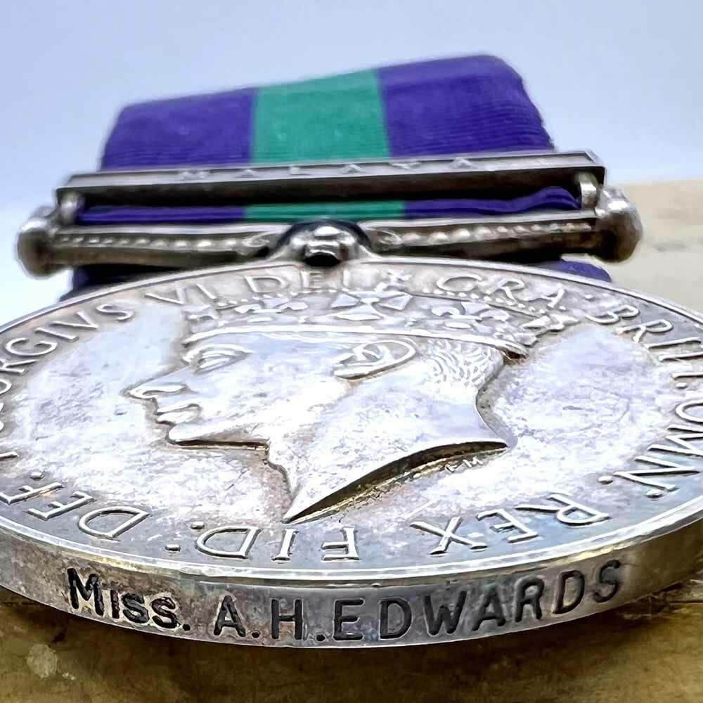 GSM Malaya Woman Civilian RAF Japan 5