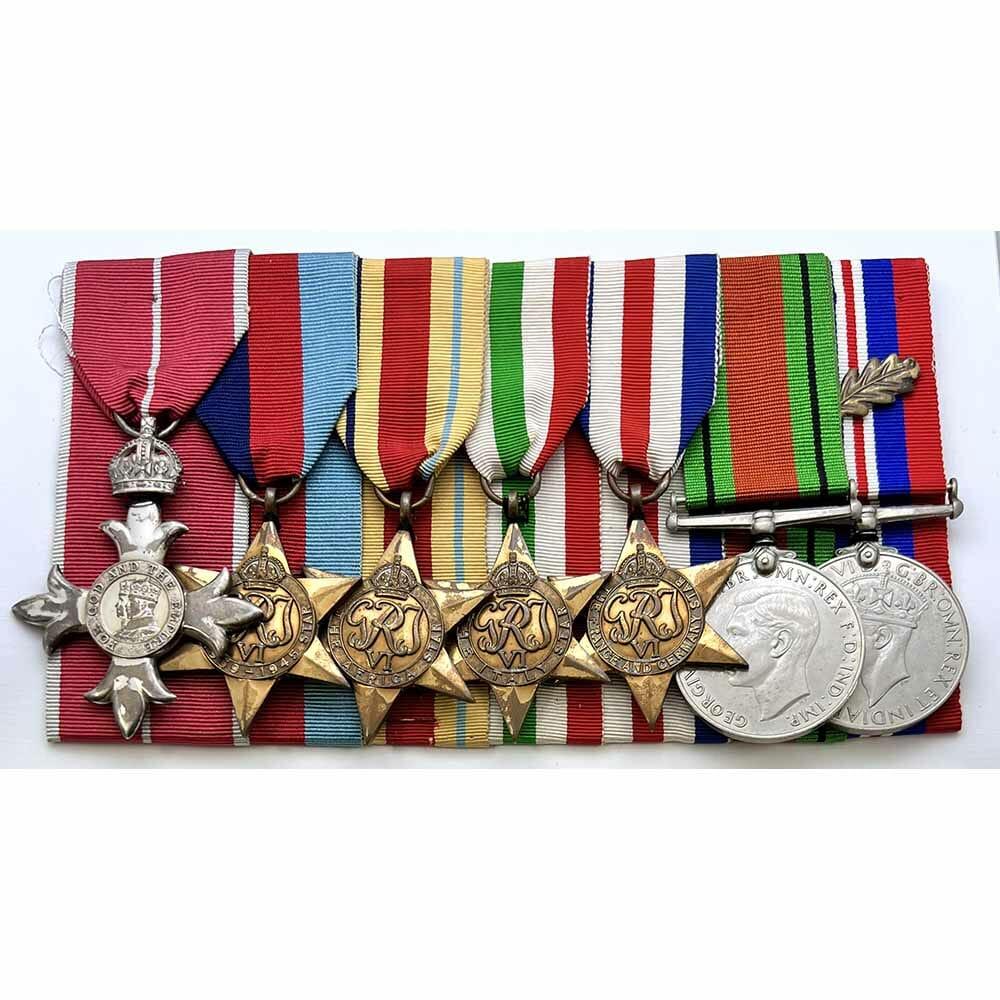 WW2 MBE Corps of Police Germany 1