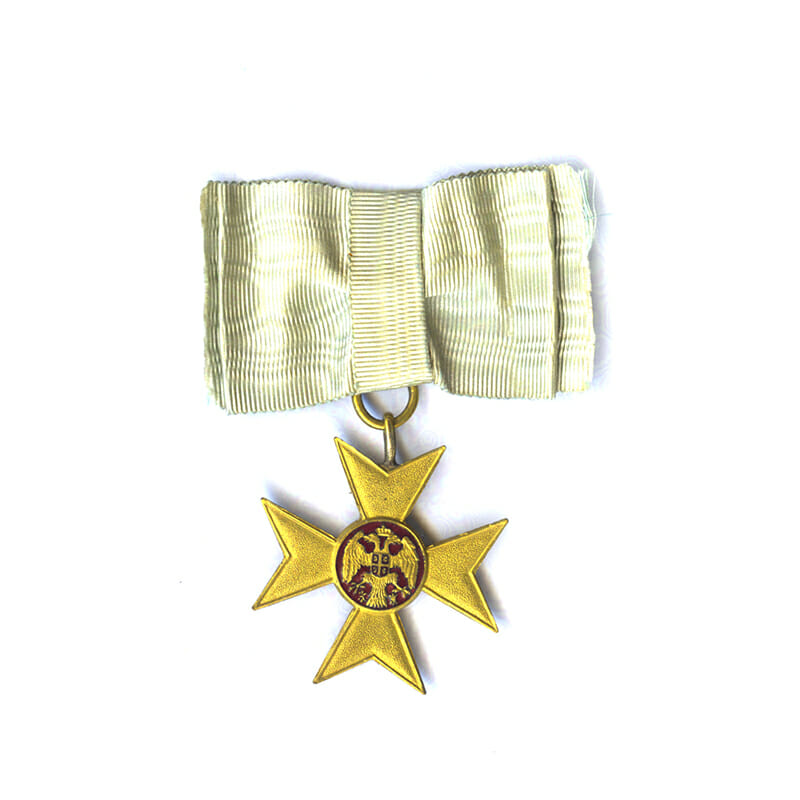 Gold Cross of Charity or Mercy 1912 1