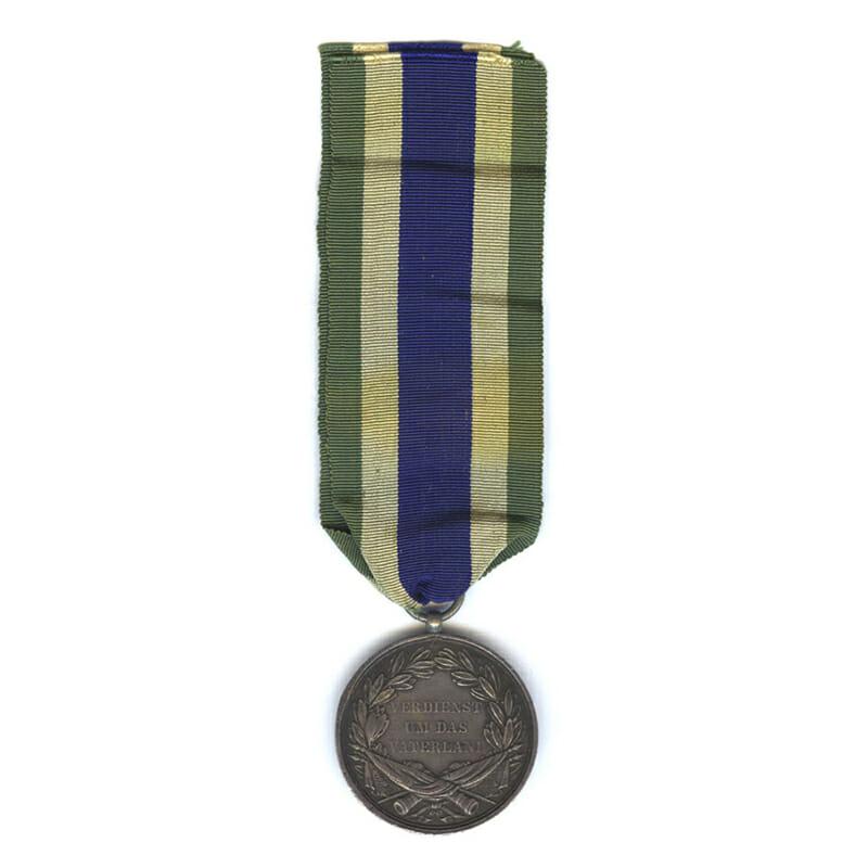 Order of  Henry Silver Merit medal signed old issue 2