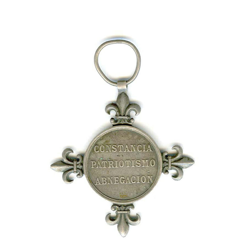 Cuban Volunteers medal 1882  silver (n.r.) 2