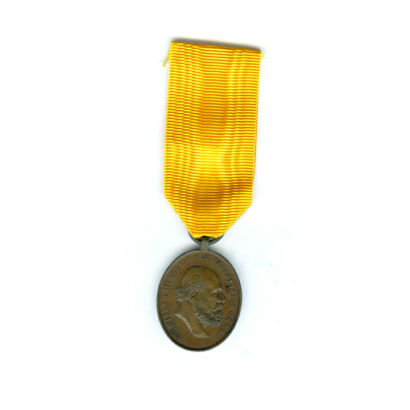 Medal for Zeal and Loyalty 1877 bronze 1