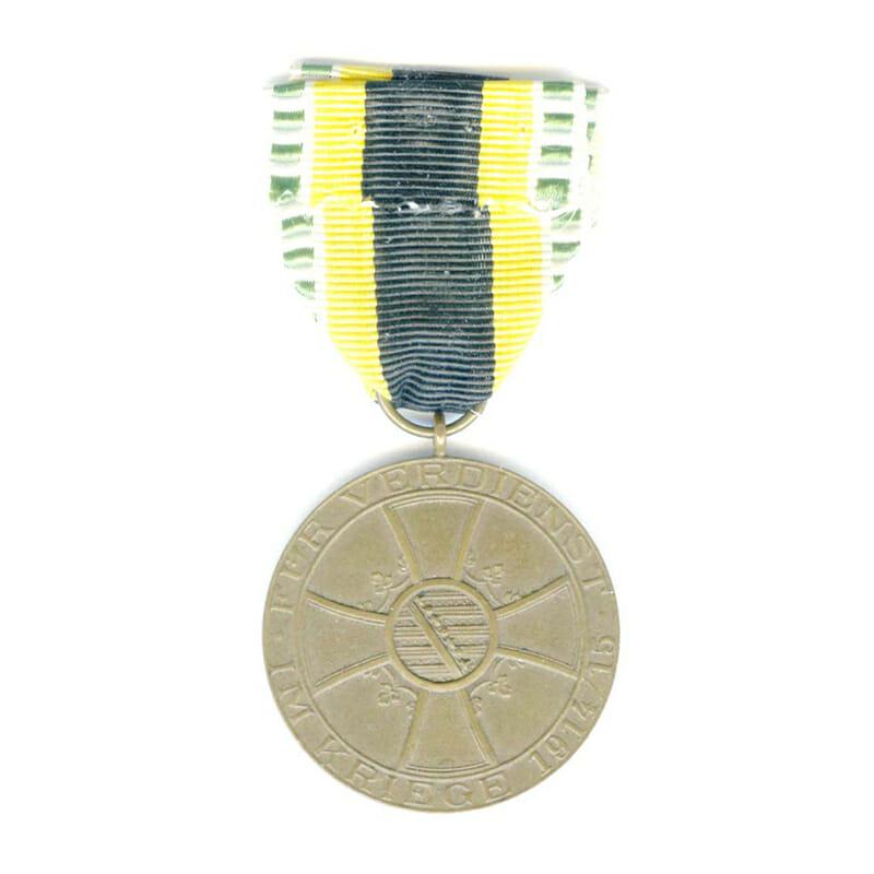 War Merit  Medal  1915-1918 bronze 2