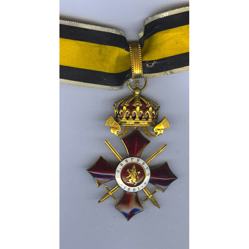 Order of Military Merit 1891 Commander 2