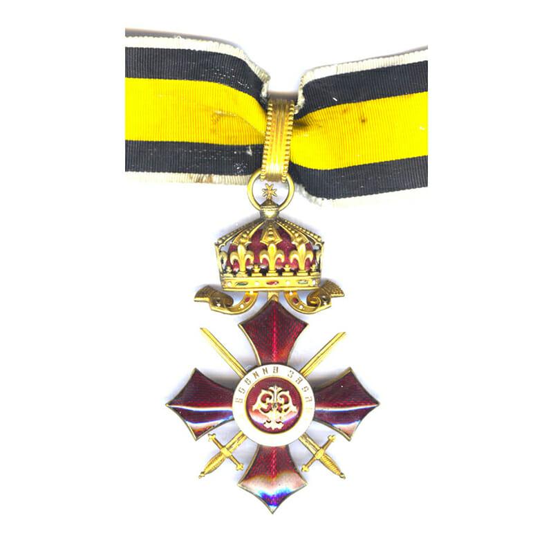 Order of Military Merit 1891 Commander 1