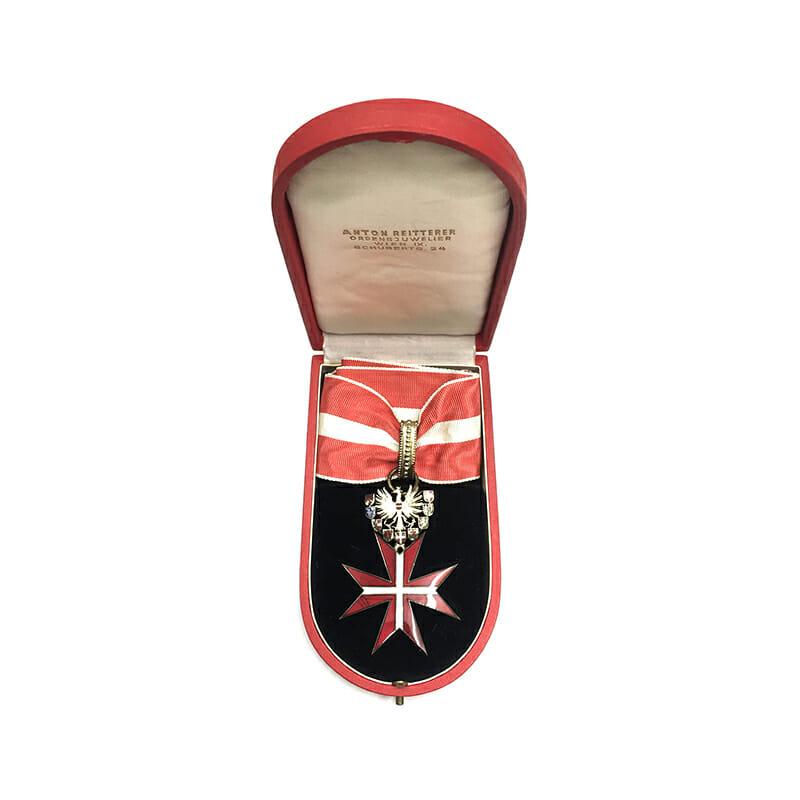 Republic Order of Merit Type II 1952 Commander  neck badge  superb heavy... 5