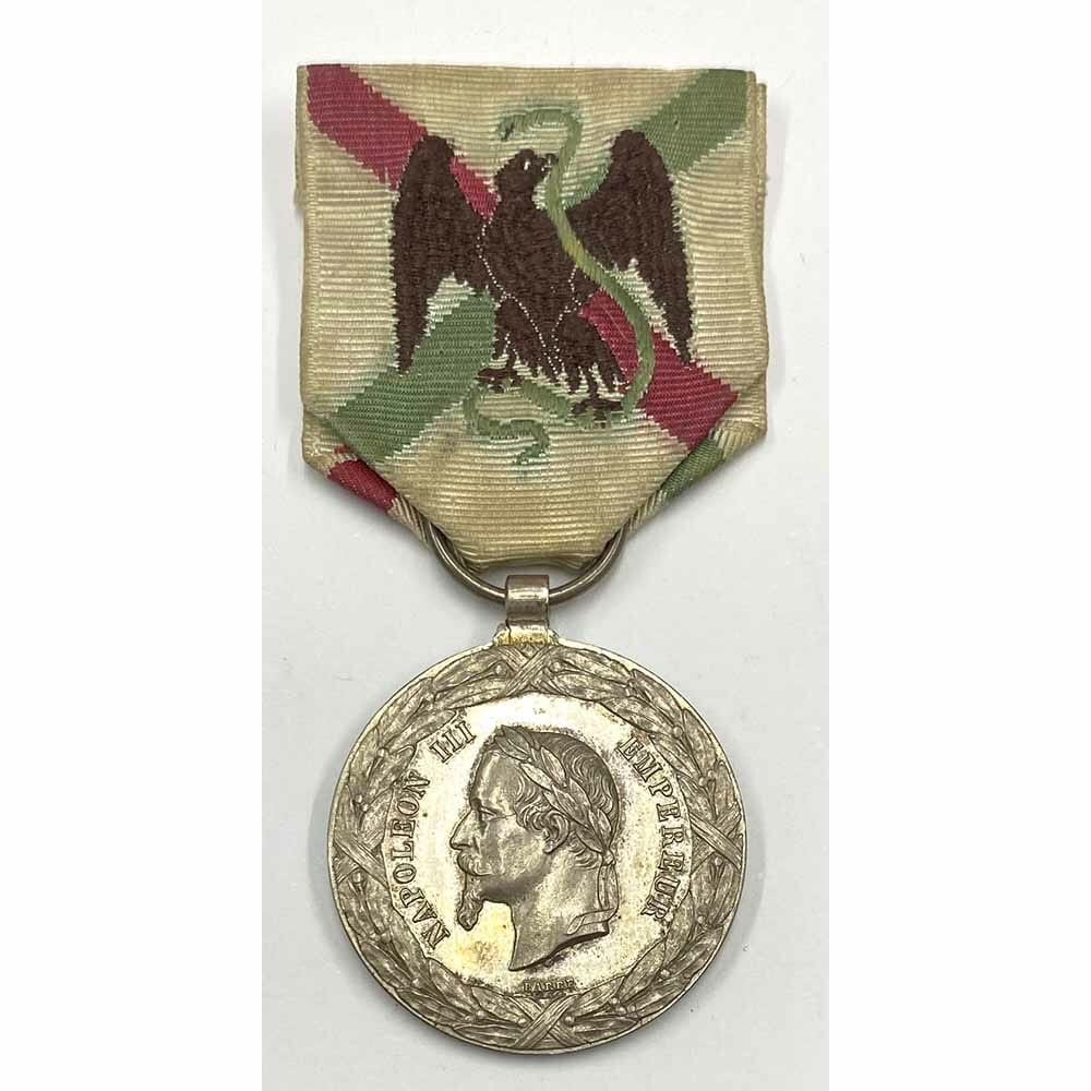 Mexico Campaign Medal by Barre 1
